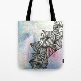 Geometrical Watercolour Tote Bag