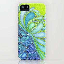 Aqua Splash iPhone Case