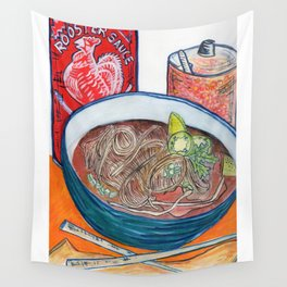 Ode To Pho Wall Tapestry