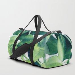 Monstera Deliciosa Duffle Bag