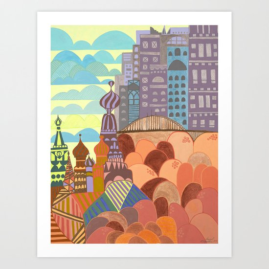 Novo Arkhangelsk Art Print