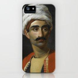 PORTRAIT OF HASSAN EL BERBERI iPhone Case