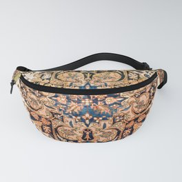 Ferahan Arak  Antique West Persian Rug Print Fanny Pack