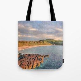Whistling Sands at Dusk Tote Bag