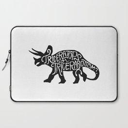 Triceratops or Tricerabottom? Laptop Sleeve