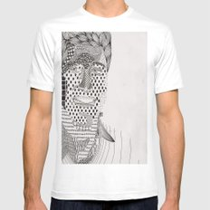 Ders White Mens Fitted Tee MEDIUM