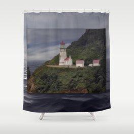 Heceta Head Lighthouse - Oregon Shower Curtain