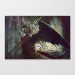Halls of Silence Canvas Print