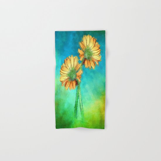 Flower 2 Hand & Bath Towel