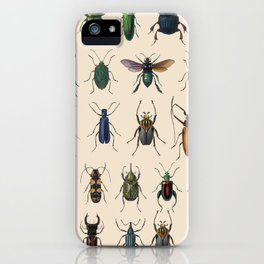 Insects, flies, ants, bugs iPhone Case
