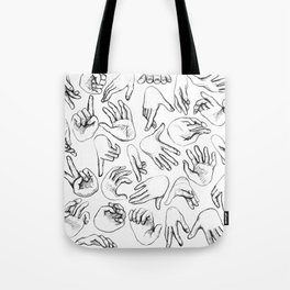 The SENSUALIST Collection (Tact) Tote Bag