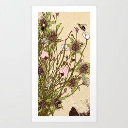 Wild Flowers Part 2 Art Print