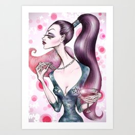 Cocktail Party Art Print