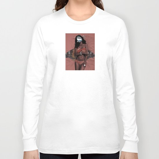 Fleisches Lust 6 - meat Collage Long Sleeve T-shirt