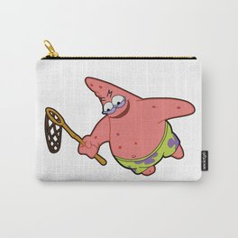 Savage Patrick Star Meme Evil Angry Spongebob Squarepants Carry-All Pouch