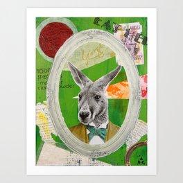 Giles 'Jocko' Keyton Art Print