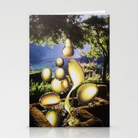 oil Stationery Cards featuring Oil by John Turck