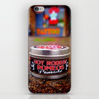 grease iPhone & iPod Skins featuring As slick as grease by Vorona Photography