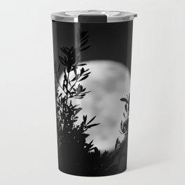 Full Moon Leaves Travel Mug