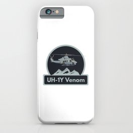 UH-1Y Venom Helicopter iPhone Case