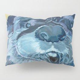 Mustache the Otter Pillow Sham