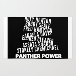 Panther Power Rug