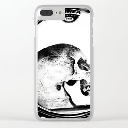 Head Bang Clear iPhone Case