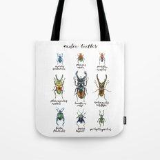 Exotic Beetles Tote Bag