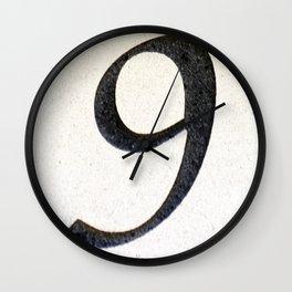 291 Wall Clock