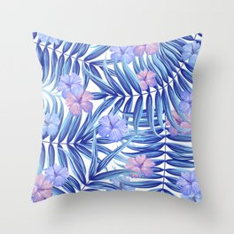 Hawaiian Pattern Throw Pillow