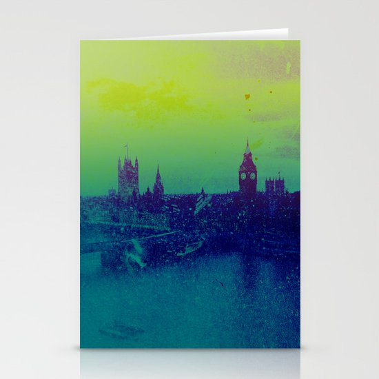 It's cold, but not gray Stationery Cards