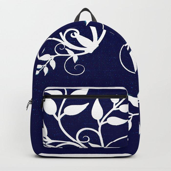 Denim Backpack
