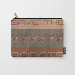 Save The Robots Carry-All Pouch