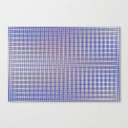 blue square Canvas Print