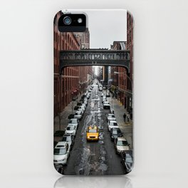 Iconic New York Taxi iPhone Case
