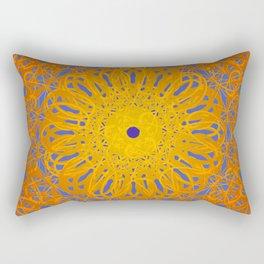 Symmetry 12: Sunflower Rectangular Pillow