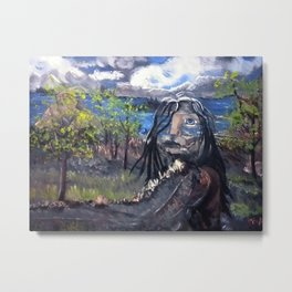 Native Path Metal Print
