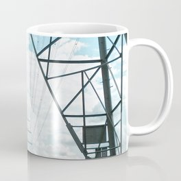 Electric landscape Coffee Mug
