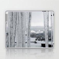 Snow Landscape Through Ice Laptop & iPad Skin
