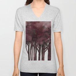 Tree Impressions No.1K by Kathy Morton Stanion Unisex V-Neck