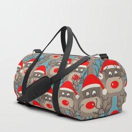 Santa Reindeers Duffle Bag
