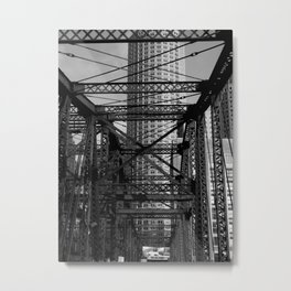 Old Northern Avenue Bridge, Boston, Mass. Metal Print
