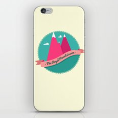 The Royal Mountaineers iPhone & iPod Skin