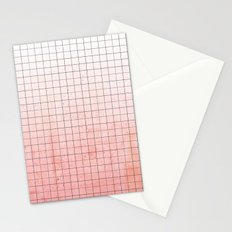 Sweet Pink Geometry Stationery Cards