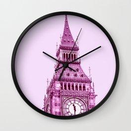 London City Travel Duotone Wall Clock