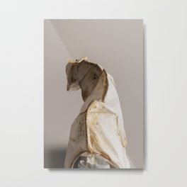 Mongrel Grey Metal Print