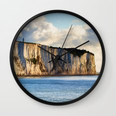 Cretaceous rocks of Dover Wall Clock