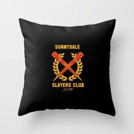 The Club Throw Pillow