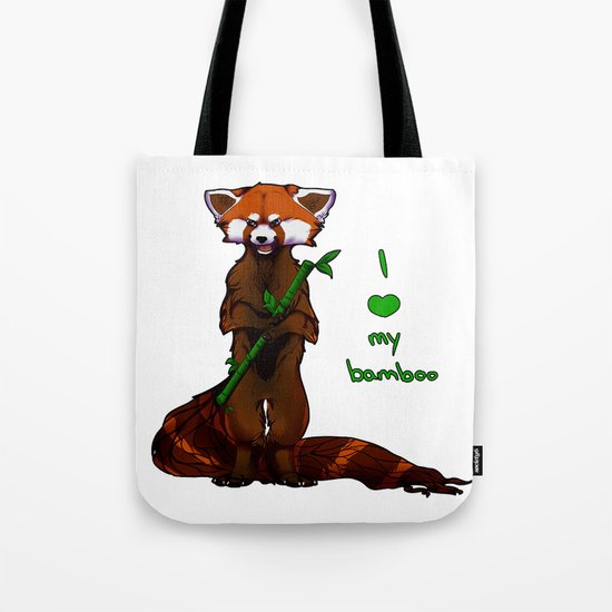 I love my bamboo (tablet) Tote Bag