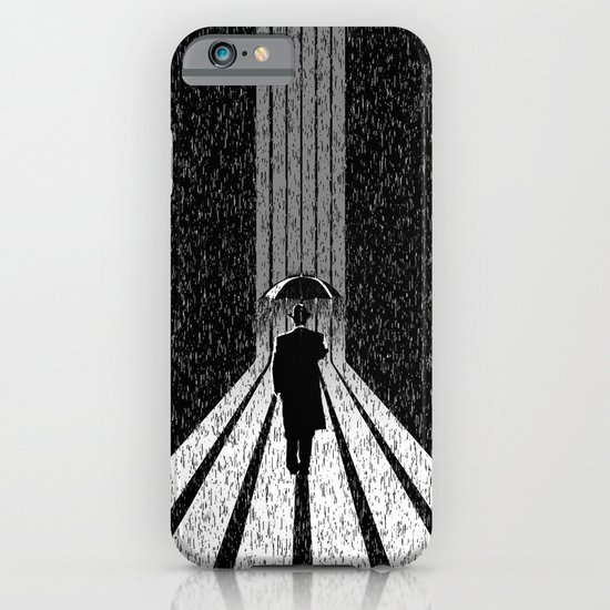 Winter's Long Road iPhone & iPod Case